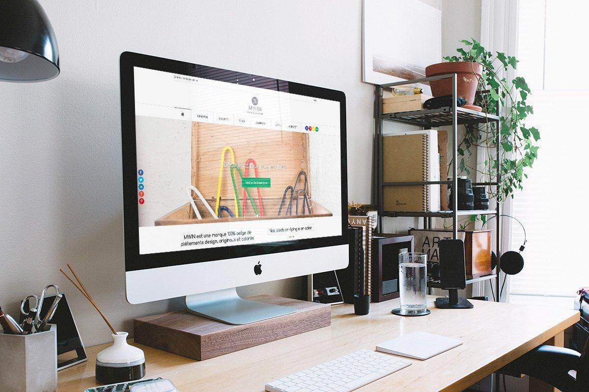 Site internet e-commerce de MWIN