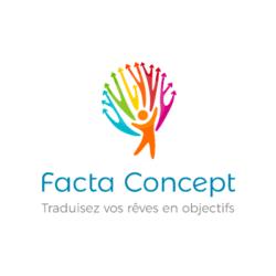 Logo de Facta Concept créé par l'agence web Poush