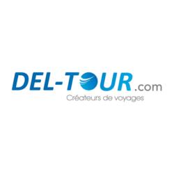 Logo des Voyages Del-Tour, client de l'agence webmarketing Poush