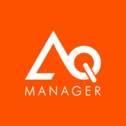 Logo d'AQ Manager, client de l'agence digitale Poush