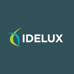 Logo d'Idelux, client de l'agence webmarketing Poush