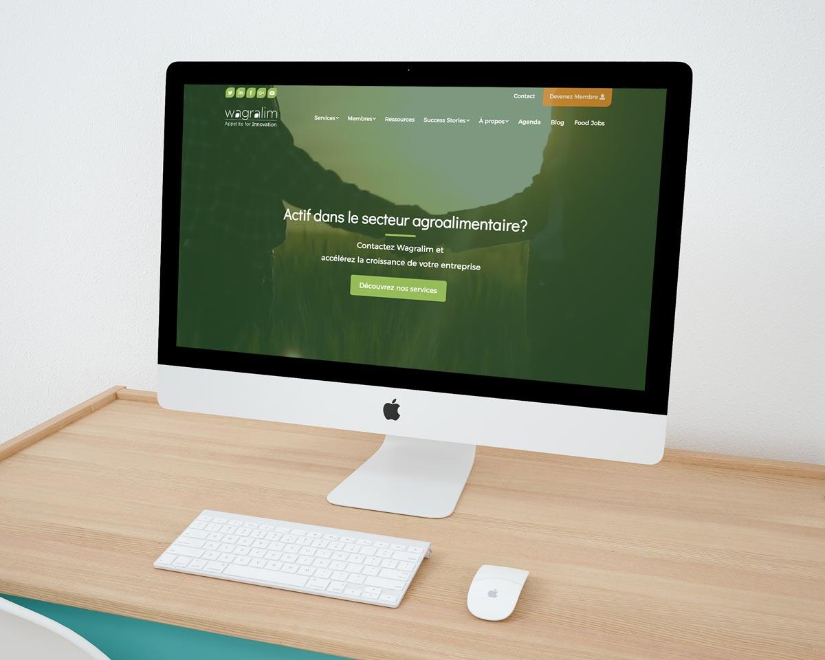 projet webdesign Wagralim