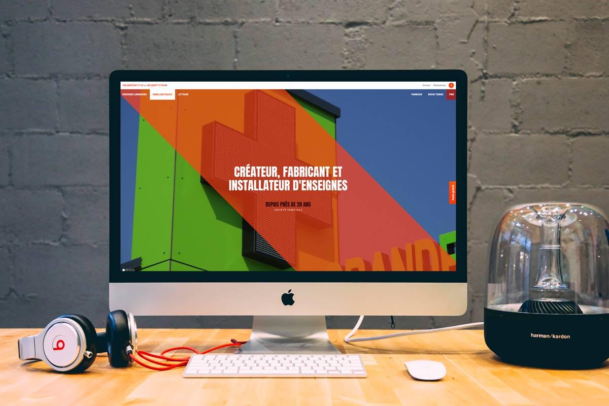 Agence création site internet: projet site internet de Totempose