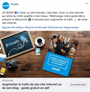Attirer du trafic avec les réseaux sociaux : publication de qualité
