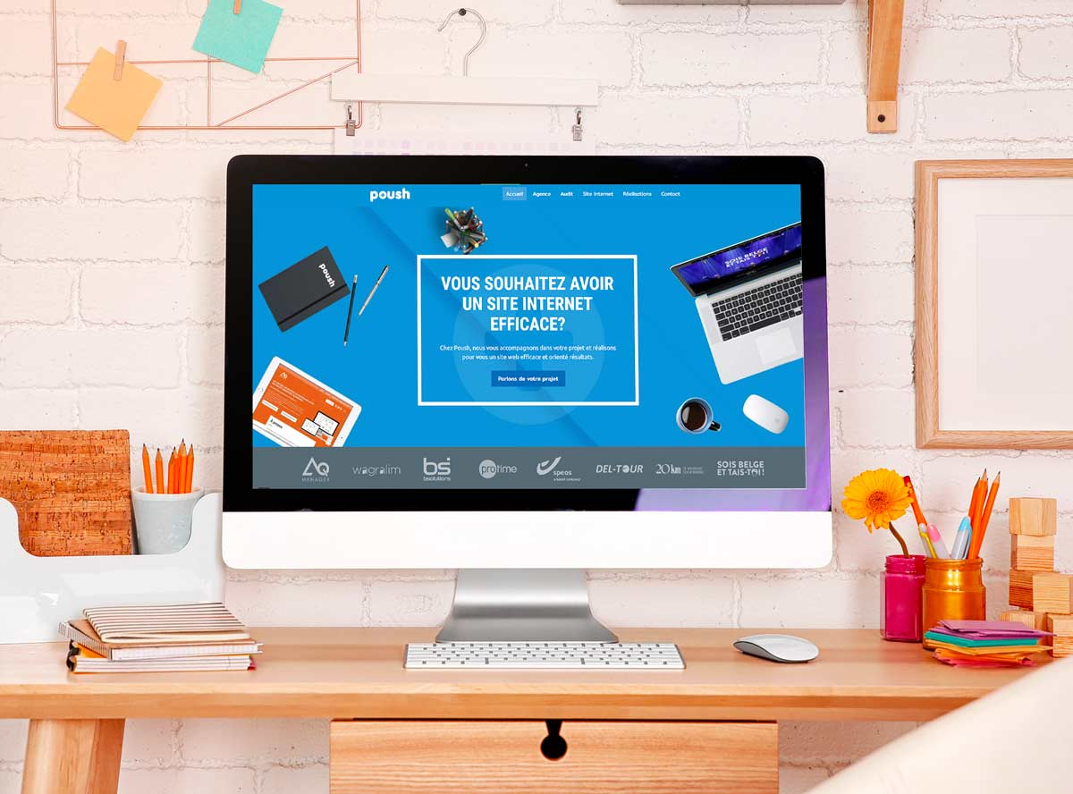 Création site internet Wallonie
