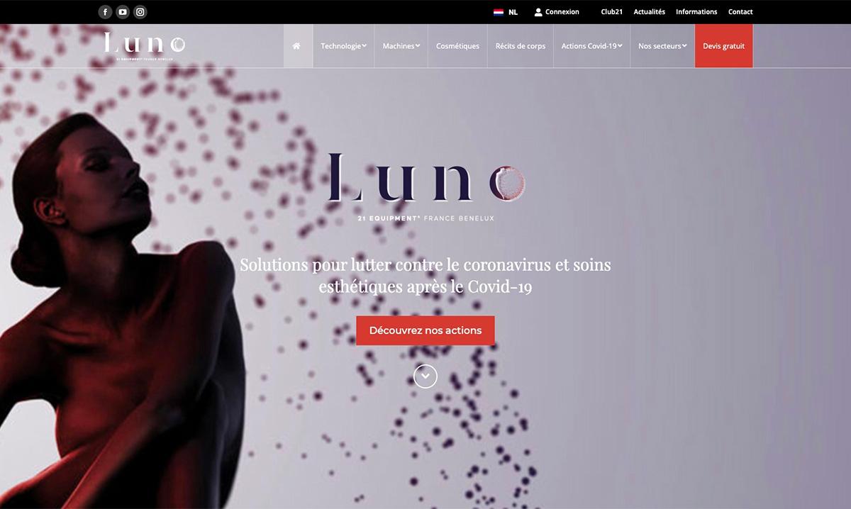 Site internet de Luno réalisé par l'agence SEO Poush