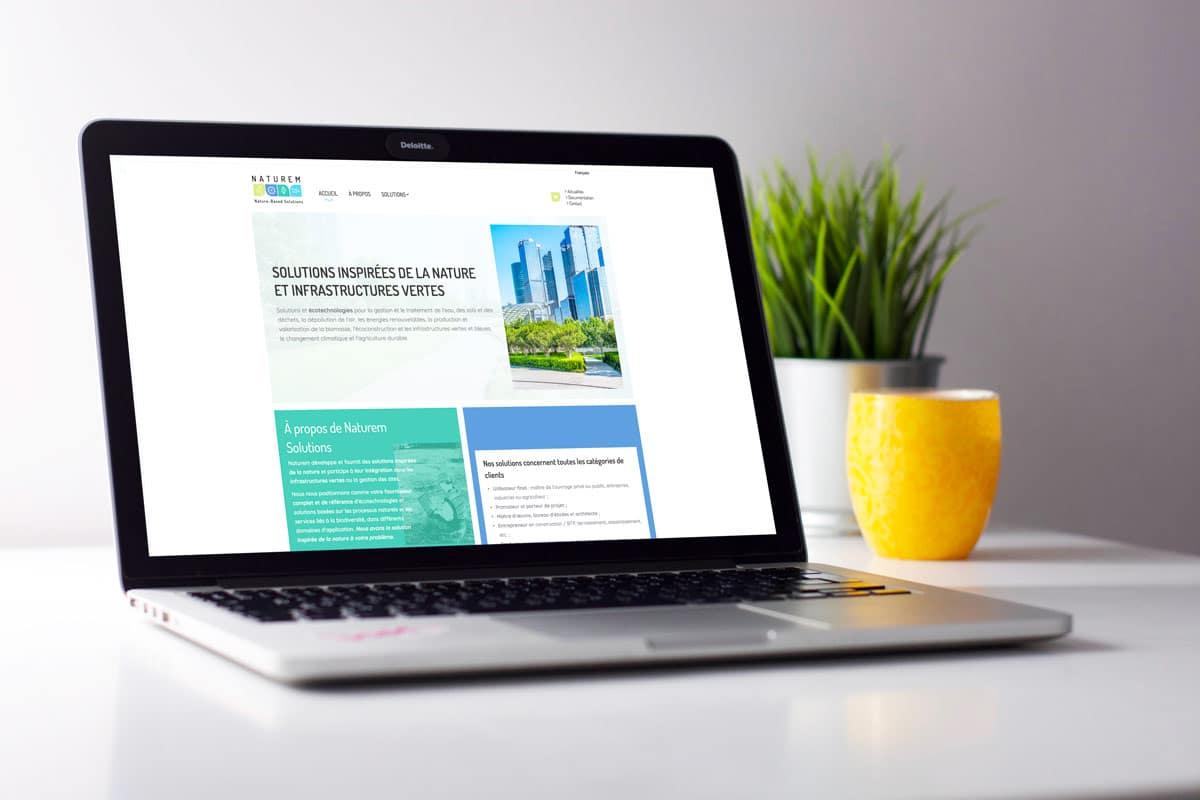 Création site internet Naturem Solutions