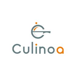 Logo de Culinoa designé par l'agence de communication digitale Poush