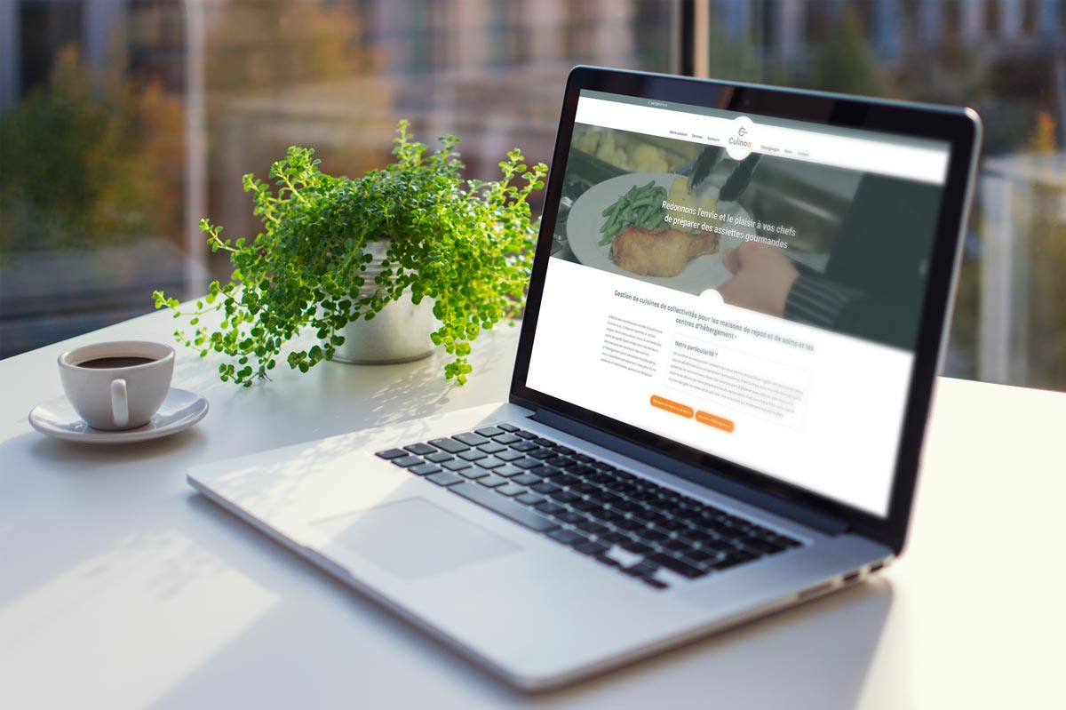 Site internet vitrine Culinoa