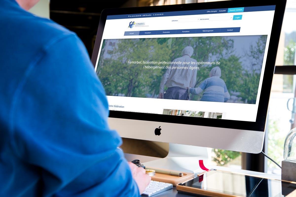 Refonte site web Femarbel