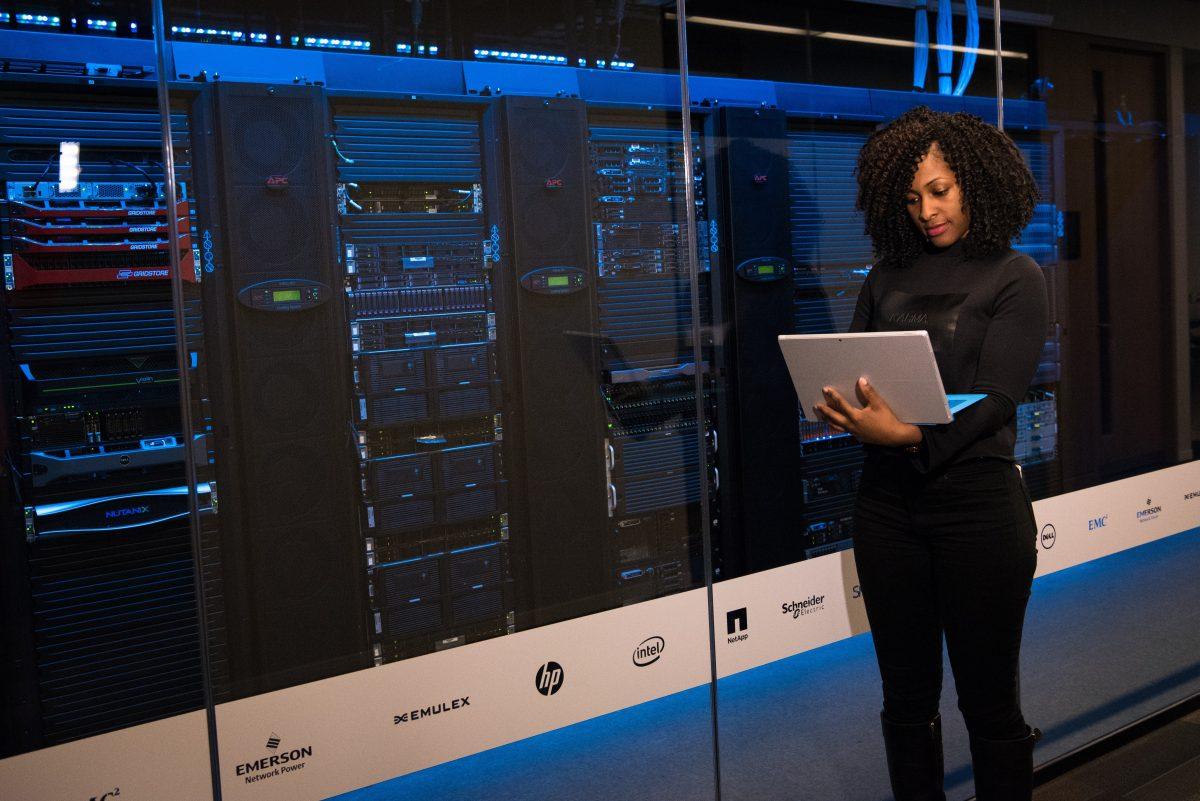 Secteur technologique digital