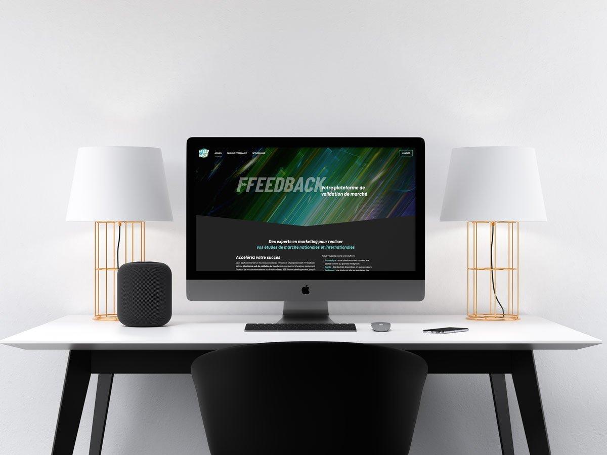 Réalisation site web Ffeedback
