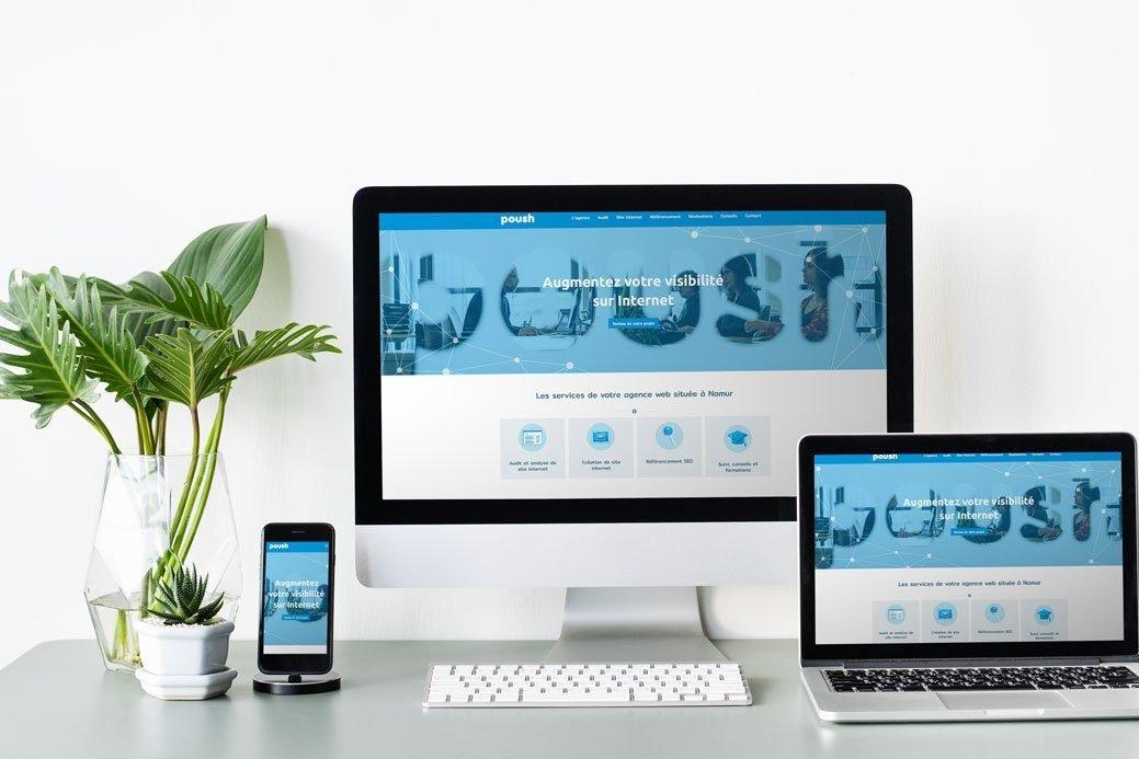 Poush un site internet efficace pour votre croissance