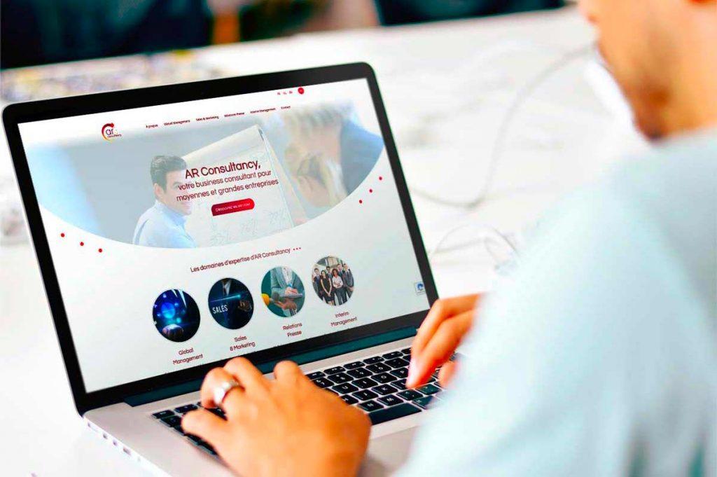 Site web AR Consultancy