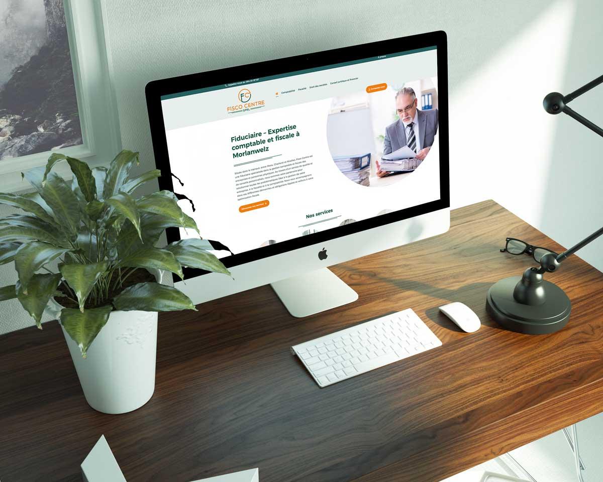 Création de site Site internet Fisco Centre