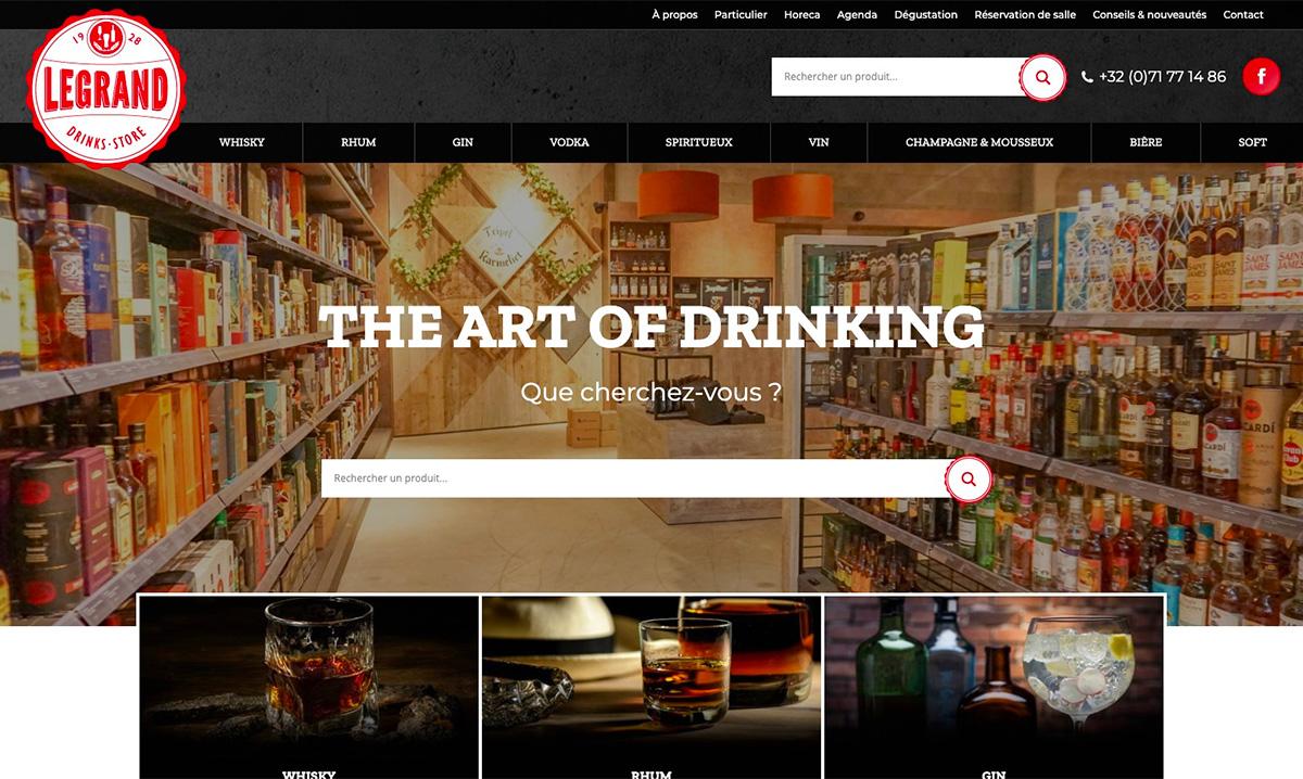 Site web créé par l'agence SEO Poush