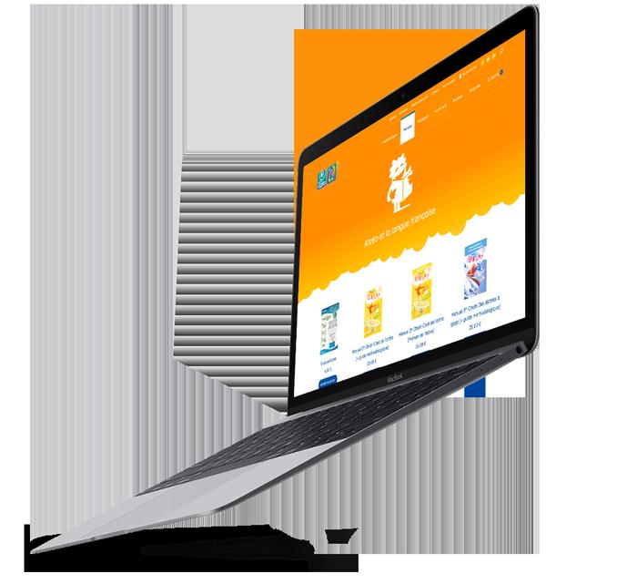 E-commerce d'Atzéo réalisé par l'agence digitale Poush