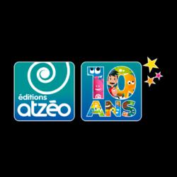 Logo des Editions Atzéo, client de l'agence de communication digitale Poush